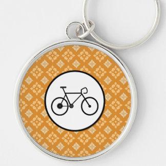Bicicleta fija del engranaje de la bici de Fixie e Llaveros Personalizados