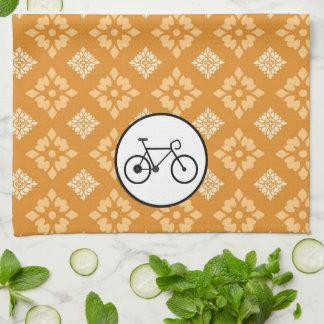 Bicicleta fija del engranaje de la bici de Fixie e Toallas De Mano
