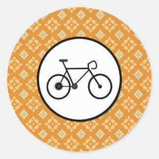 Bicicleta fija del engranaje de la bici de Fixie e Pegatina