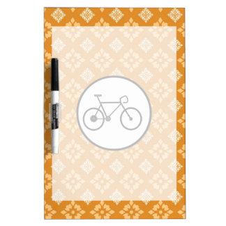 Bicicleta fija del engranaje de la bici de Fixie e Tableros Blancos