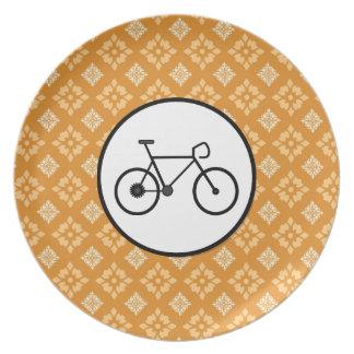 Bicicleta fija del engranaje de la bici de Fixie e Plato