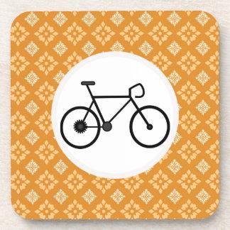 Bicicleta fija del engranaje de la bici de Fixie e Posavasos