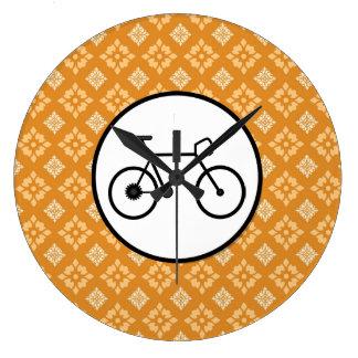 Bicicleta fija del engranaje de la bici de Fixie e Relojes
