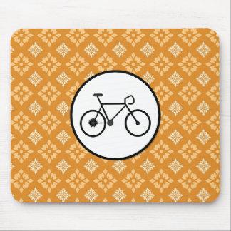 Bicicleta fija del engranaje de la bici de Fixie e Tapete De Ratón