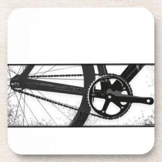 Bicicleta fija del engranaje posavasos de bebidas