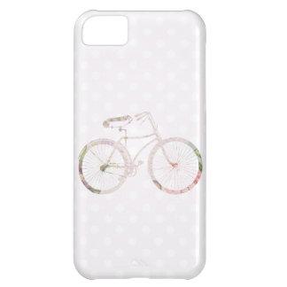 Bicicleta floral femenina carcasa iPhone 5C