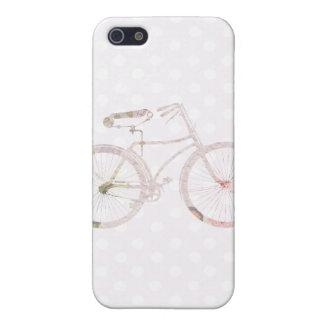 Bicicleta floral femenina iPhone 5 carcasa