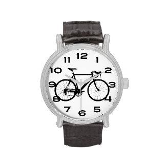 Bicicleta fresca relojes de mano