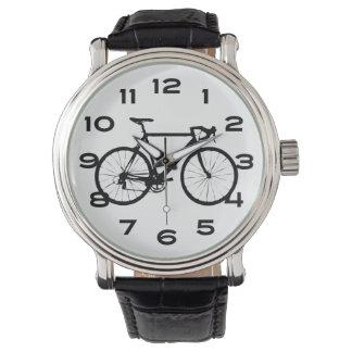Bicicleta fresca reloj de mano