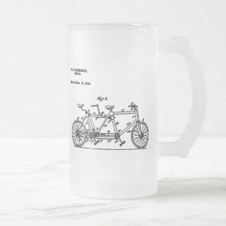 Bicicleta Hasbrouk 1894 Jarra De Cerveza Esmerilada