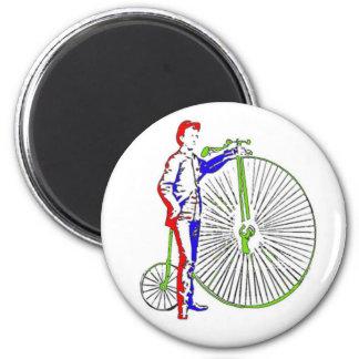 Bicicleta Imán Redondo 5 Cm