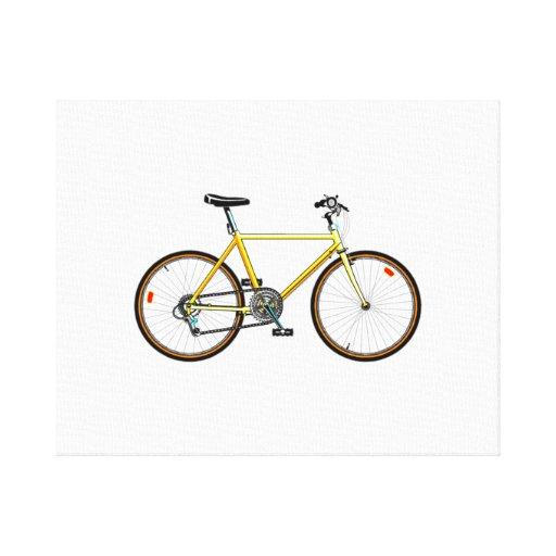 Bicicleta Impresion De Lienzo