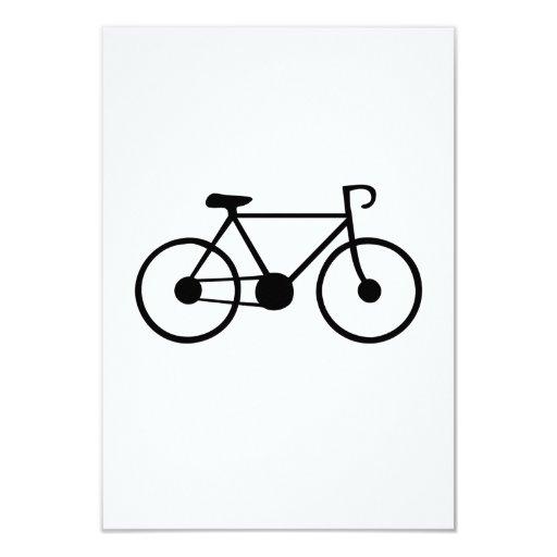 Bicicleta Invitación 8,9 X 12,7 Cm