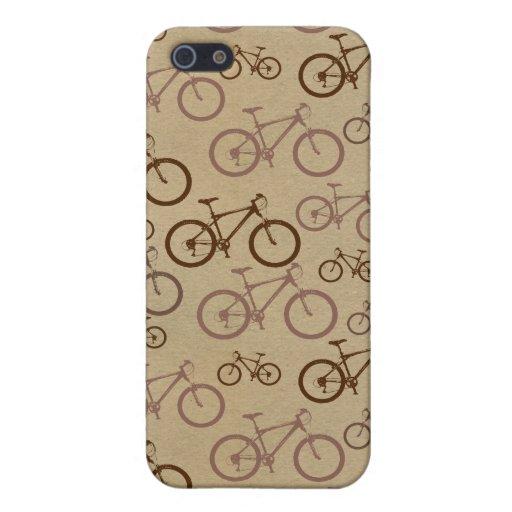 bicicleta iPhone 5 cárcasas