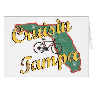 Bicicleta la Florida de Tampa de la bici Tarjeta De Felicitación