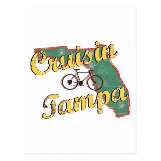 Bicicleta la Florida de Tampa de la bici Tarjeta Postal