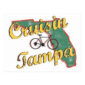 Bicicleta la Florida de Tampa de la bici Tarjetas Postales
