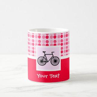 Bicicleta linda tazas de café