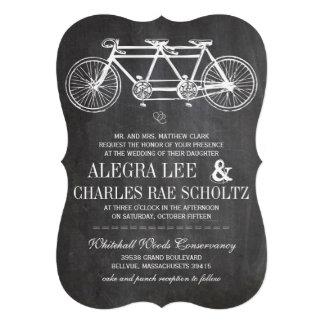 Bicicleta moderna del vintage de la pizarra de la