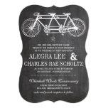 Bicicleta moderna del vintage de la pizarra de la comunicados