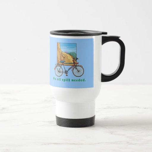 Bicicleta:  Ningunas camisetas y tazas necesarias