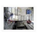 Bicicleta parisiense postales