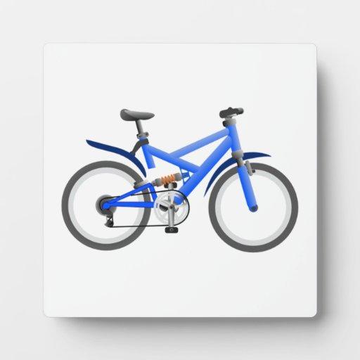 Bicicleta Placa