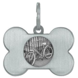 Bicicleta Placa De Mascota