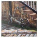 Bicicleta plegable Antigua Azulejos Cerámicos