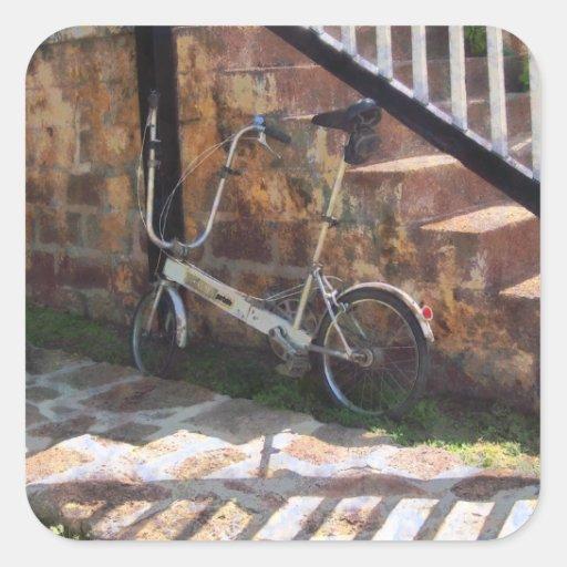 Bicicleta plegable Antigua Colcomanias Cuadradases