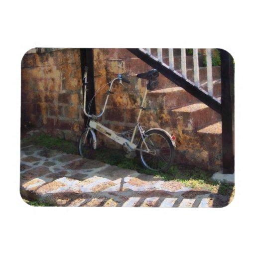 Bicicleta plegable Antigua Imanes Flexibles