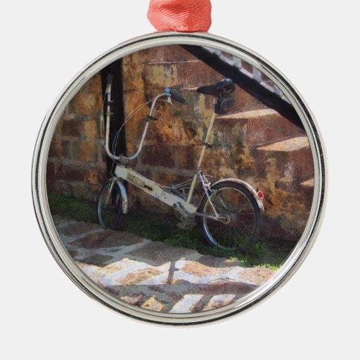 Bicicleta plegable Antigua Ornamentos De Navidad