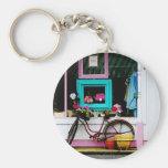 Bicicleta por el anticuario llaveros personalizados