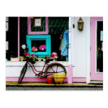 Bicicleta por el anticuario postal