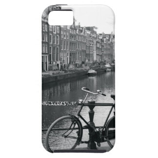 Bicicleta por el canal funda para iPhone SE/5/5s