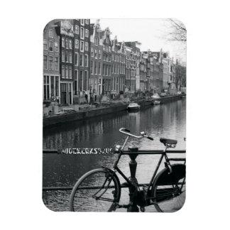Bicicleta por el canal imanes rectangulares