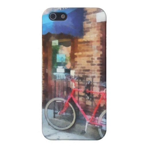 Bicicleta por la oficina de correos iPhone 5 funda