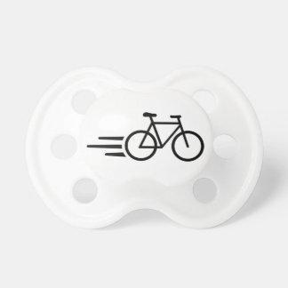 Bicicleta rápida chupete de bebé