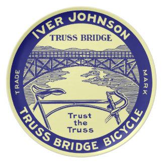 Bicicleta retra del puente de braguero de Iver Plato