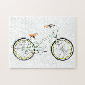 bicicleta retra puzzles con fotos