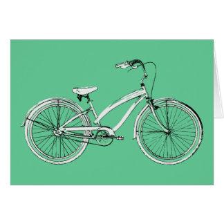 bicicleta retra felicitacion