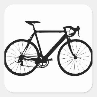 Bicicleta rígida colcomanias cuadradas