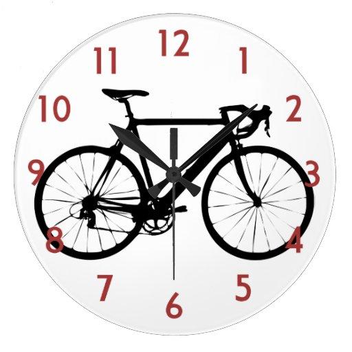 Bicicleta rígida relojes