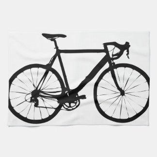Bicicleta rígida toalla
