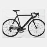 Bicicleta rígida toallas de mano
