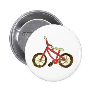 Bicicleta roja pin