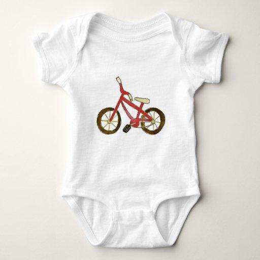 Bicicleta roja playera