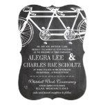 Bicicleta rústica del vintage de la pizarra de la comunicados