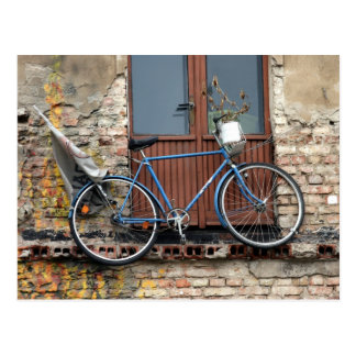 Bicicleta Tarjeta Postal