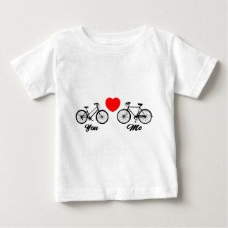 Bicicleta te amo t-shirts